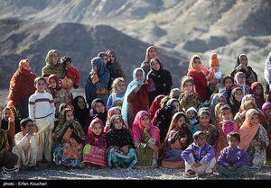 امداد رسانی هوایی به مناطق سیل زده سیستان و بلوچستان