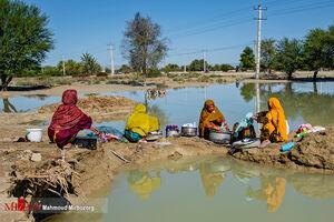 امداد رسانی به عشایر سیل زده چابهار