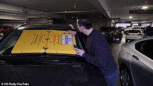 عکس/ جدیدترین نحوه جریمه خودرو
