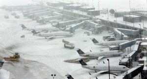 طوفان برفی در شیکاگو
