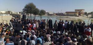 رئیس جمهور در جمع مردم مناطق سیل زده