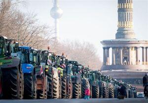 تظاهرات سراسری کشاورزان آلمانی در اعتراض به سیاستهای دولت