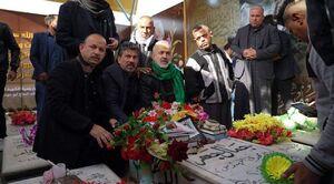 عکس/ ابراز ارادت عراقیها به شهید ابومهدی