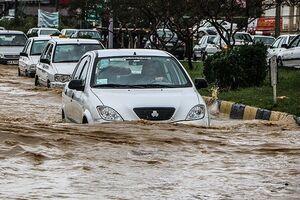 هشدار پلیس راهور درباره سیلابی شدن برخی محورها