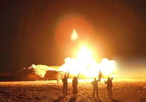 انفجار بمب نزدیک کاروان حامل تجهیزات آمریکایی در بغداد