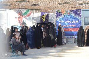 عکس/ بیمارستان صحرایی سپاه در سیستان و بلوچستان
