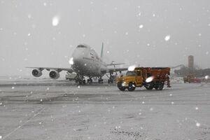 فیلم/ تاخیر در پروازهای فرودگاه مهرآباد