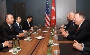 دیدار دوجانبه وزرای خارجه آمریکا و ترکیه پیش از کنفرانس برلین
