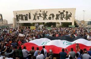 کاهش جمعیت معترض و افزایش اقدامات خرابکارانه در عراق +عکس و فیلم