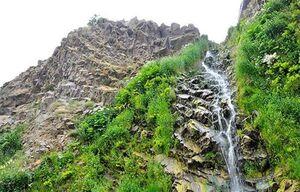 عکس/ آبشار دیدنی سردابه