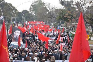 تظاهرات ضدآمریکایی هزاران پاکستانی +عکس