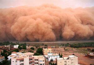 فیلم/ لحظه هجوم طوفان گرد و غبار در استرالیا