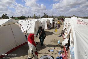عکس/ آخرین وضعیت مناطق سیل زده جاسک