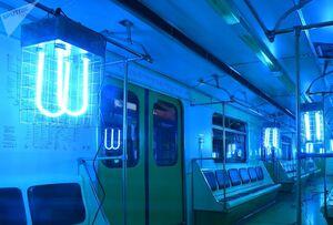 تمیز کردن مترو