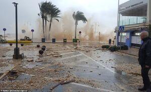 """عکس/ طوفان """"گلوریا"""" اسپانیا را درنوردید"""