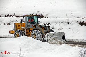 برف روبی و بازگشایی جاده ها در آذربایجان غربی