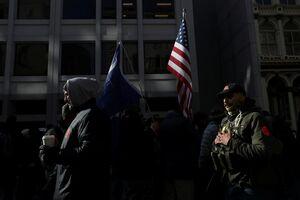 تظاهرات هواداران قانون حمل سلاح در آمریکا