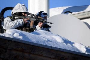 عکس/ تدابیر امنیتی نشست «داووس»
