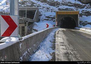 تصاویر جدید از آزادراه تهران - شمال
