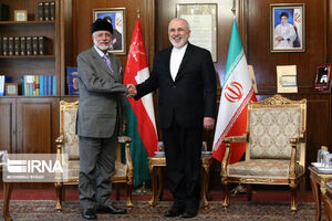 دیدار وزیر خارجه ایران و عمان