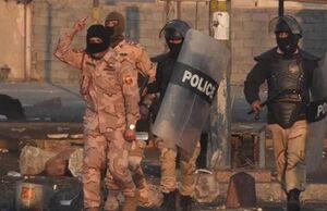 حمله به سربازان عراقی با سلاحهای مجهز به صداخفه کن