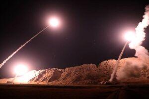 حمله موشکی ایران به عین الاسد