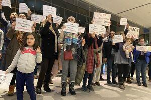 آمریکا یک دانشجوی ایرانی را غیرقانونی بازداشت کرد+عکس