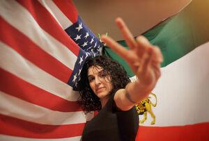«ساغر کسرایی» کیست/ آیا آمریکاییها به دنبال تربیت «مصی علینژاد ۲» هستند؟ +عکس و فیلم