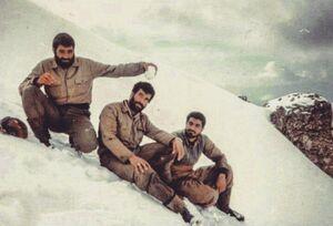 تصویر کمتر دیده شده از سردار سلیمانی