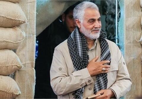 فیلم/ پاسخ سردار سلیمانی به اظهارات ظریف