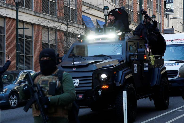 تظاهرات هواداران قانون حمل سلاح در