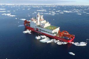 تیم اعزامی چین به قطب جنوب