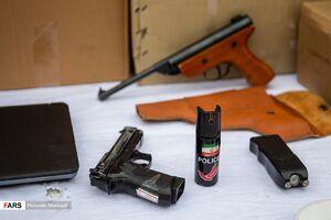 عکس/ اسلحه سارقان پایتخت
