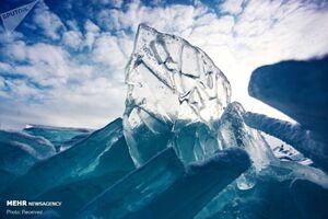 فیلم/ یخ بستن آب پشت سد در ارومیه