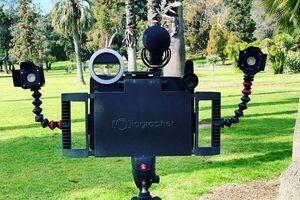 تبدیل تبلت به دوربین تلویزیونی با یک اختراع جدید +عکس