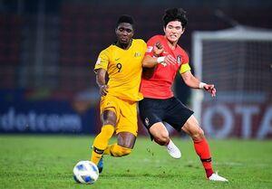 فوتبال امید کره جنوبی و استرالیا