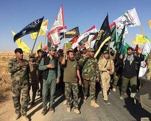 حشدالعشبی امنیت جادهای مهم در غرب الأنبار را تأمین کرد