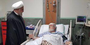 رئیسجمهور از حجتالاسلام شهیدی عیادت کرد