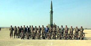 پاکستان یک موشک بالستیک را آزمایش کرد +فیلم