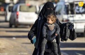 عکس/ اردوگاه زنان بیوه داعشی
