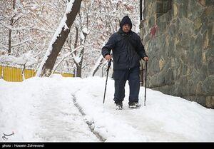 هشدار کولاک برف و بهمن در برخی استانها