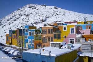 عکس/ خانه های رنگی اراک
