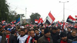 تصاویر جدید از راهپیمایی میلیونی در عراق
