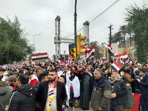 فیلم/ مردم عراق یکصدا خواهان خروج نیروهای اشغالگر آمریکایی