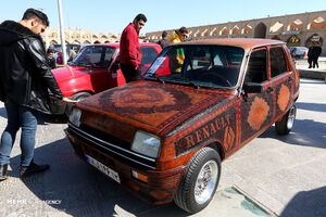 عکس/ همایش خودروهای کلاسیک در اصفهان
