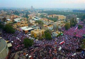 فیلم/ ادعای مضحک «العربیه» درباره تظاهرات مردم عراق