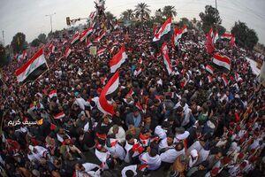 عکس/ حضور میلیونی مردم عراق در تظاهرات ضد آمریکایی