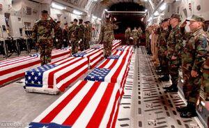 تابوت نظامیان آمریکا