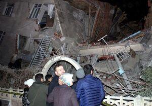 افزایش تعداد تلفات زلزله ترکیه به ۱۸کشته و ۵۵۰ زخمی