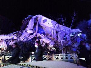 تصاویر اولیه از خسارت زلزله بزرگ ترکیه